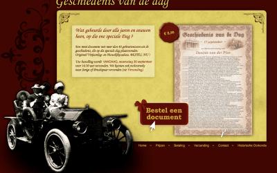 Uniek cadeau: Geschiedenis van de dag