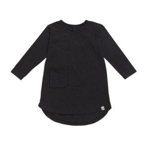 Nachthemd zwart melee maat 86/92