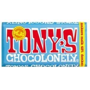 Tony's Chocolonely Chocoladereep Donkere Melk