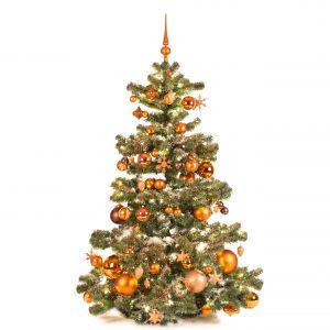 Kunstkerstboom koper warm 150cm