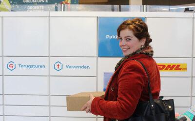 Pakketautomaat bij Lidl Veenendaal-Oost
