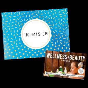 Wellness & Beauty Cadeau - Ik mis je