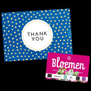 Bloemen Cadeau - Thank You