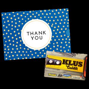 Klus Cadeau - Thank You