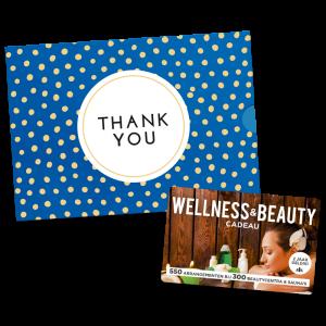 Wellness & Beauty Cadeau - Thank You