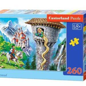 Castorland legpuzzel Rapunzel 260 stukjes