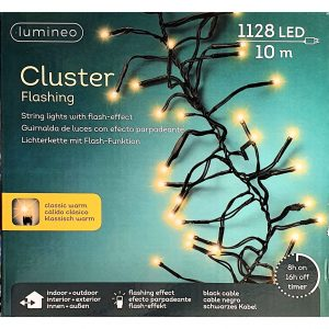 Clusterverlichting lumineo Flashing 1128- lamps LED 'classic warm