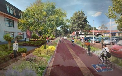 Stationsweg Ede wordt fietsstraat