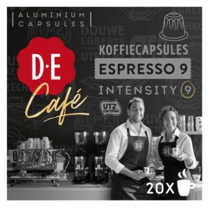 Douwe Egberts D.E Café - nespesso compatible - Espresso 9 koffiecups