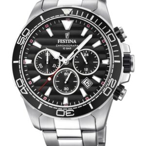 Festina F20361/4 chronograaf herenhorloge 44 mm