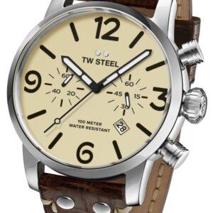 TW Steel MS24 Maverick chronograaf horloge 48 mm