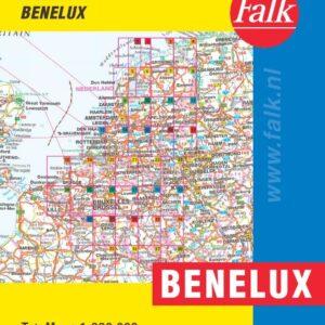 Falk Routiq autokaart Benelux Tab Map