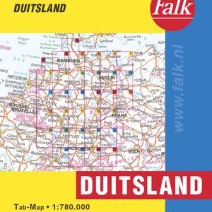 Falk Routiq autokaart Duitsland Tab Map