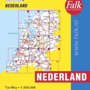 Falk Routiq autokaart Nederland Tab Map