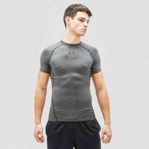 UNDER ARMOUR Heatgear armour shirt grijs heren Heren
