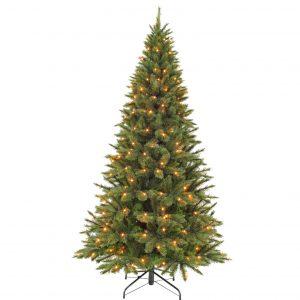 Kunstkerstboom Triumph Tree Forest frosted pine slim 230cm