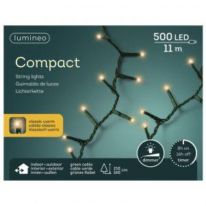 LED compactverlichting 500-lamps 'klasiek warm'