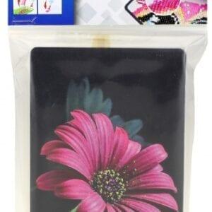 Toi-Toys knutselset Diamond Painting bloem roze 15 x 10 cm
