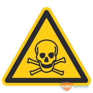 Giftige stoffen - 150 mm breed