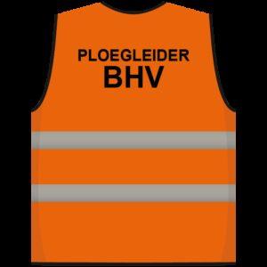 Ploegleider BHV hesje oranje