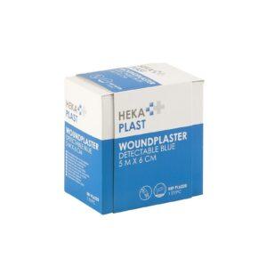 HEKA plast detectable dispenserdoos - 5 m x 6 cm