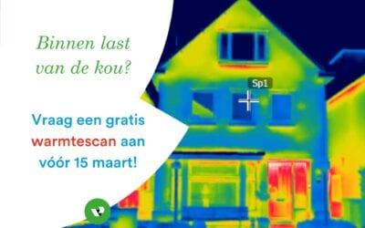 Gratis warmtescan in Veenendaal
