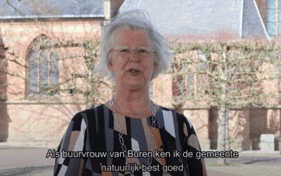 Nieuwe burgemeester Buren stelt zich voor