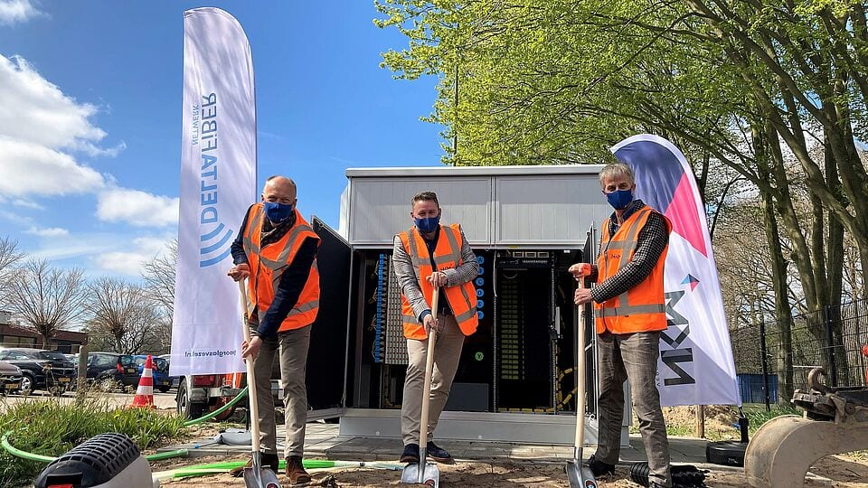 Start aanleg glasvezel in Otterlo, Harskamp, Wekerom, Ederveen en de Klomp