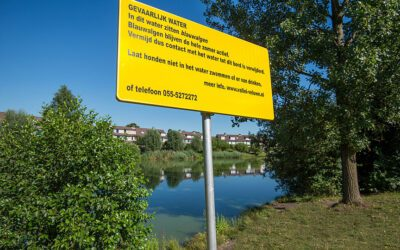 Blauwalgen aangetroffen in Ede-West en in Veldhuizen
