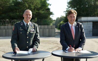 Innovatie voor legerplaats Ede Driesprong