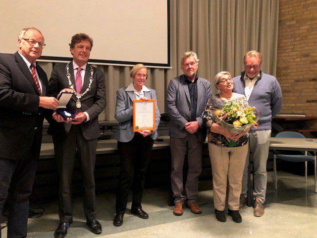 Koninklijke Erepenning voor Historische Vereniging Oud-Bennekom